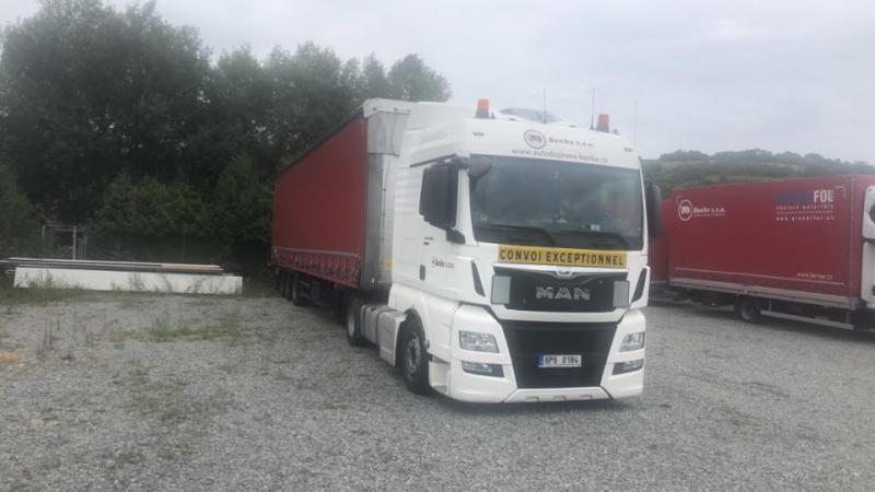 New MAN TGX truck